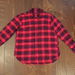 Madewell Flannel Button-up